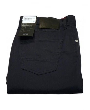 Boss Navy Texas Lightweight Jeans