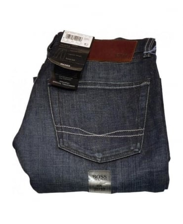 Boss Mid/Dark Blue Jeans