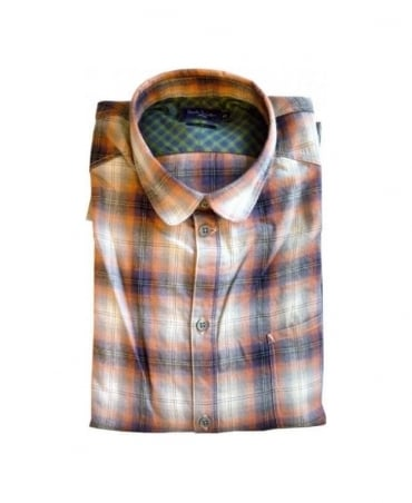 Paul Smith - Jeans Purple Check Tailored Fit Shirt