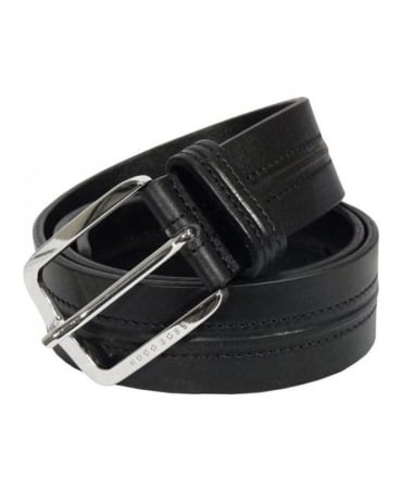 Boss Black & Centre Stitch Belt
