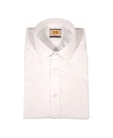 Boss White Eworke Shirt