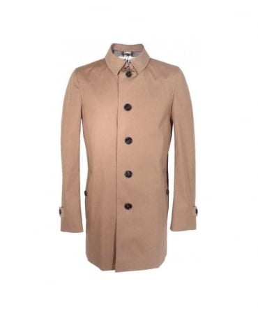 Burberry Dark Camel Belford Raincoat