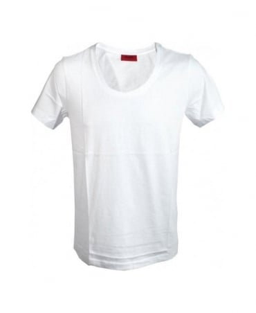 Hugo White Dartin T-Shirt