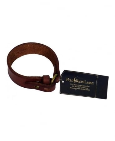Ralph Lauren Brown Leather Wrist Strap 8