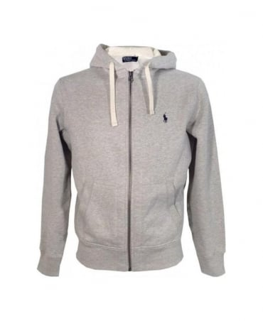 Ralph Lauren Grey Light Sport Heather Classic Hoodie