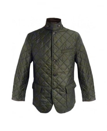 Ralph Lauren Dark Olive Quilted Sport Coat