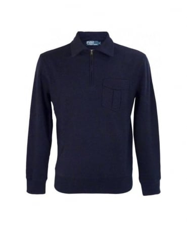Ralph Lauren Hunter Navy Beach Fleece