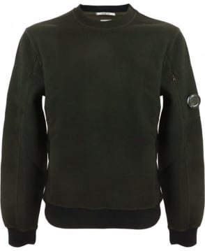CP Company 3D Tacting Sweatshirt In Green