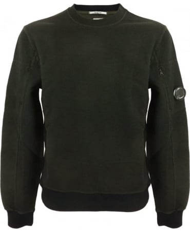 C.P. Company 3D Tacting Sweatshirt In Green