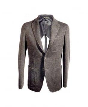 Acquaviva Charcoal Grey Zokis Blazer Jacket