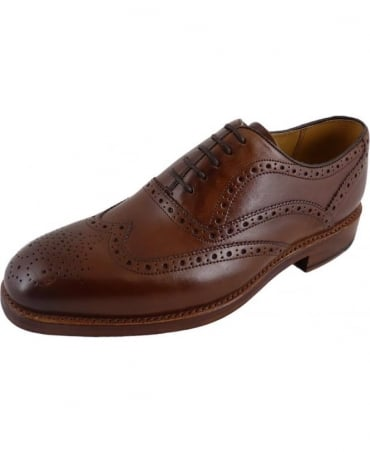 Oliver Sweeney Aldeburgh Dark Tan Formal Oxford Brogue