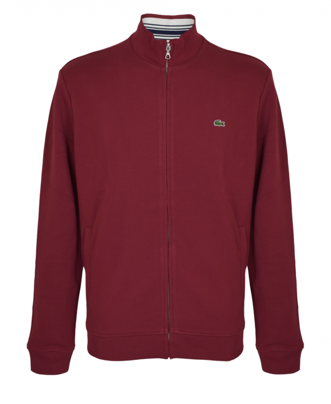Lacoste Andrinople Zipped Stand Up Collar Sweatshirt