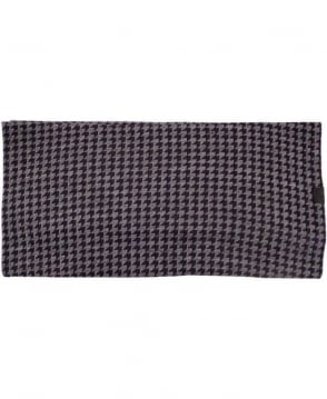 Armani Anthracite Knitted Pattern 5A902 Scarf