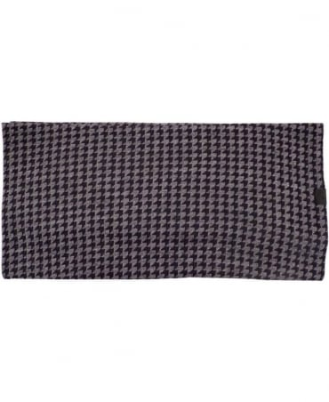 Anthracite Knitted Pattern 5A902 Scarf