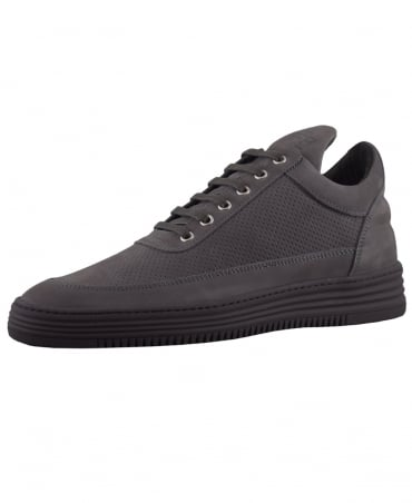 Filling Pieces Antra Low Top Perforated Tone Trainers