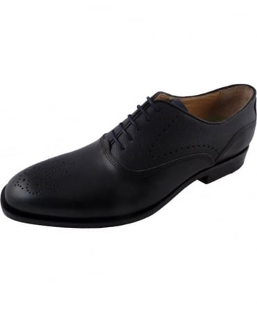 Arcioni Dark Grey Lace Up Brogue
