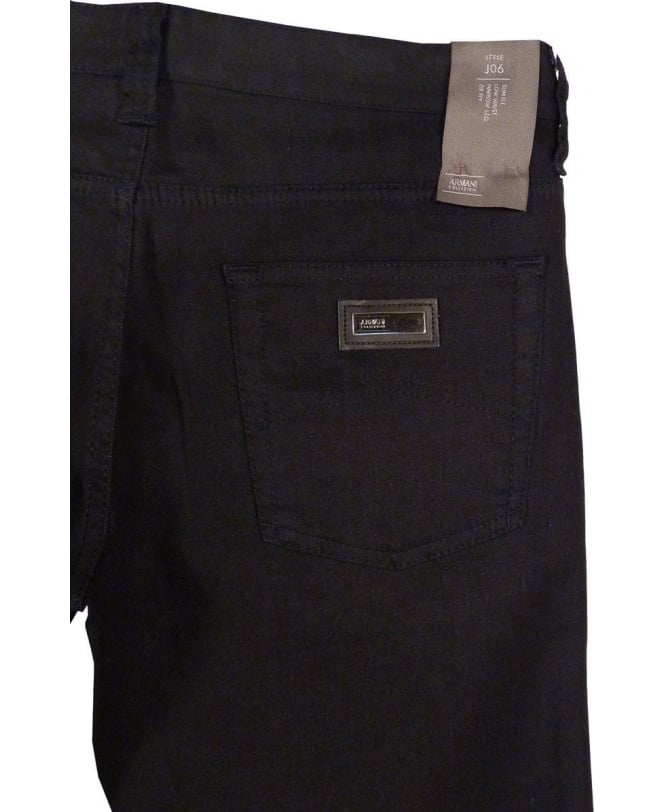 new concept f6f87 1cd6b Armani Collezioni Armani Collezioni Dark Blue JO6 Slim Fit Jeans