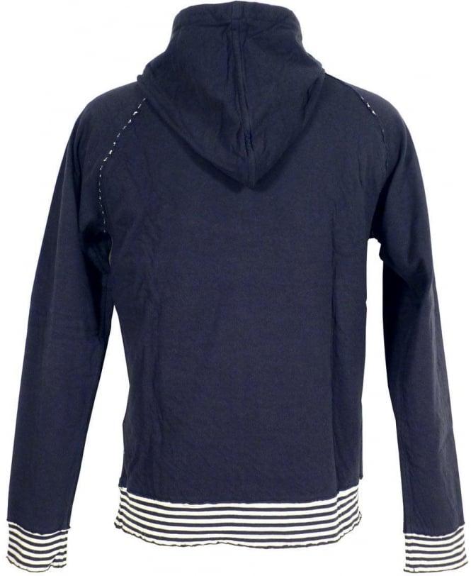 Armani Jeans Black Hooded Armani Jeans Sweatshirt - Sweatshirt from ... 7491d411e
