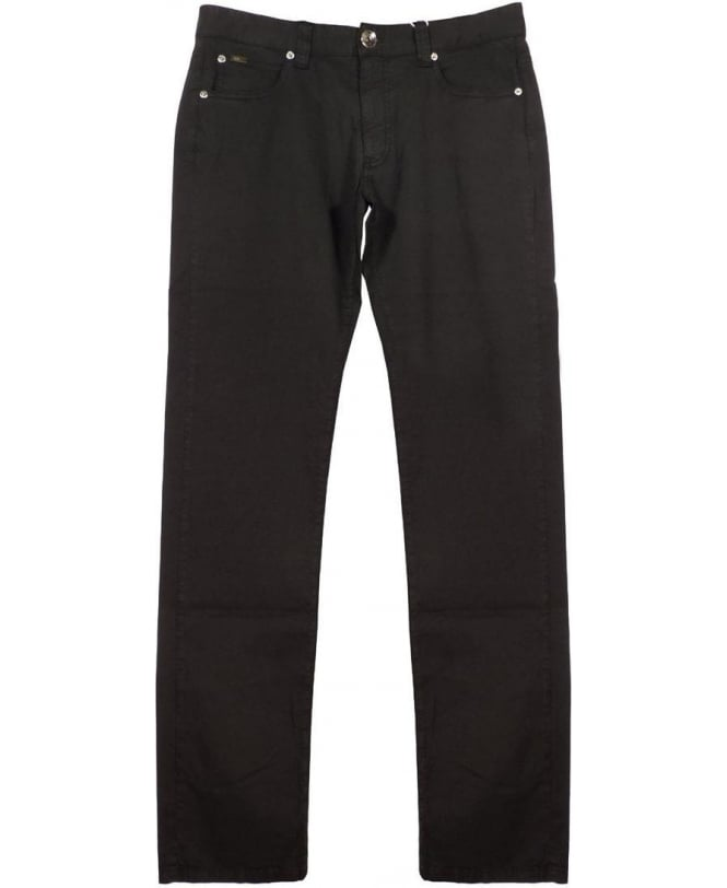 Armani Collezioni Black JO6 Slim Fit Jeans