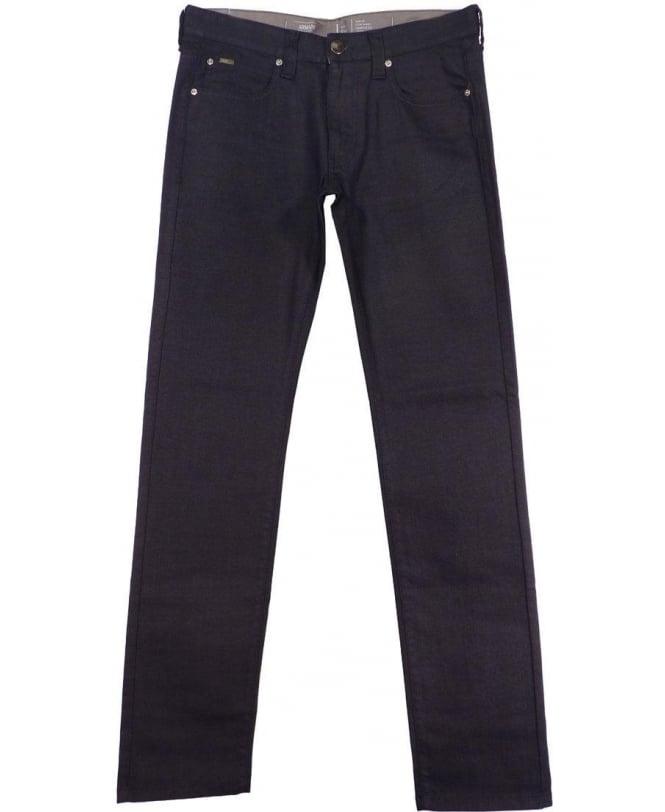 Armani Collezioni Dark Blue JO6 Slim Fit Jeans