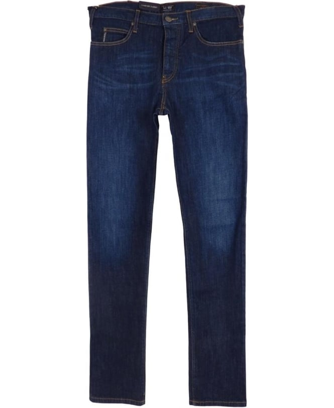 3c9fcb91 J21 Regular Fit Jeans In Dark Blue