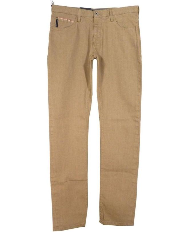 Armani Jeans Beige 'J10' Extra Slim Fit Jeans