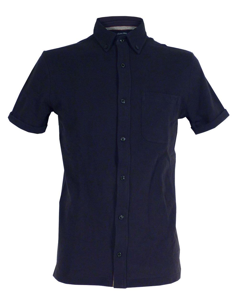 Armani Jeans Armani Jeans Dark Blue Extra Slim Fit Shirt