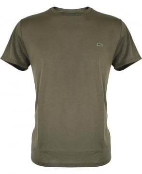 Lacoste Army Green TH6709 T/Shirt