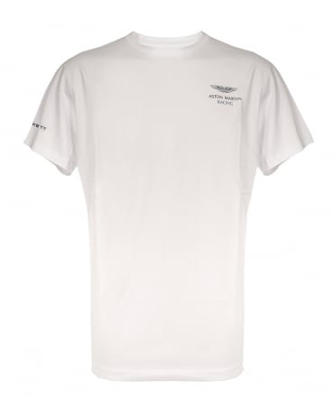 Aston Martin Racing Logo T-shirt In White
