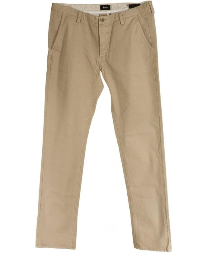 Hugo Boss Beige 50284629 Rice1-D Slant Pocket Chino