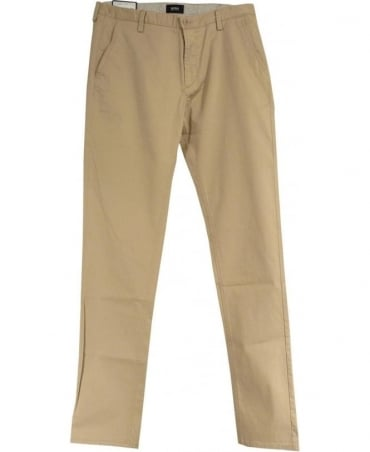 Hugo Boss Beige 50284651 Slim Fit Stretch Rice1-W Chinos