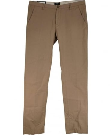 Hugo Boss Beige 50309158 Rice3-D Stretch Slim Fit Chino