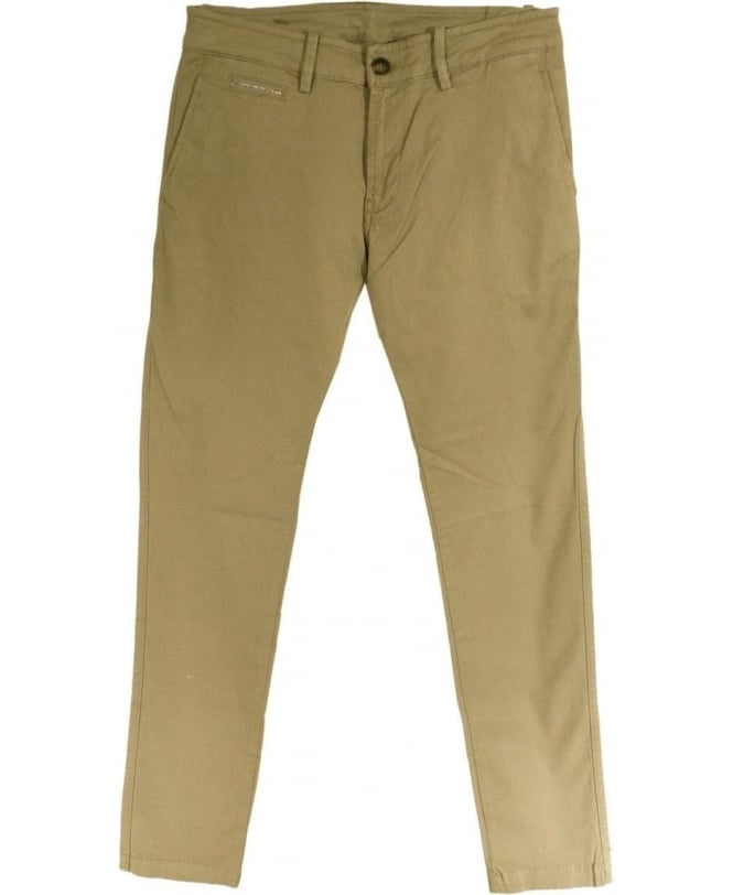 Diesel Beige Chi-Shaped Five Pocket Chino