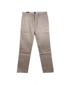 Hugo Boss Beige Crigan Regular Fit  Trouser