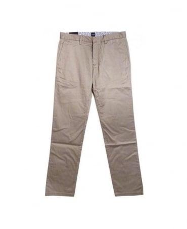 Hugo Boss Beige Crigan Regular Fit  Trouser