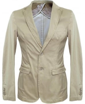 Hamaki-Ho Beige GA510H Two Button Jackets