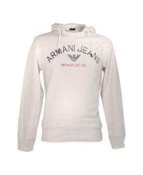Armani Beige Hooded Sweatshirt