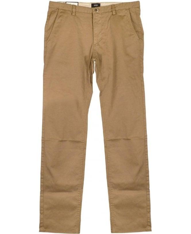 Hugo Boss Beige Rice Chino Slim Fit Trousers - Chinos from Jonathan  Trumbull UK