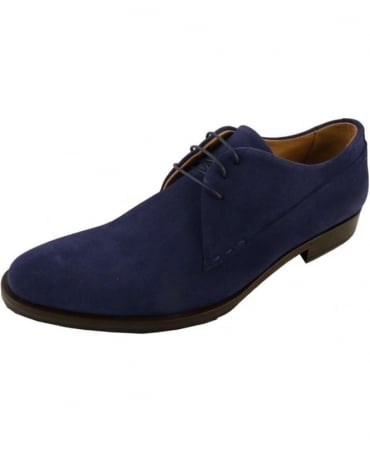 Oliver Sweeney Bellante Navy Suede Formal Shoe