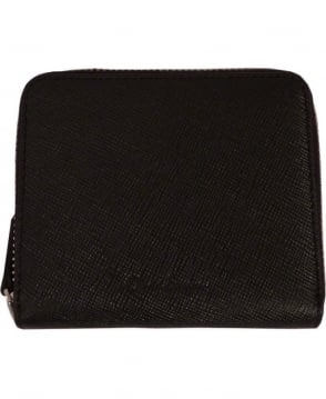 Oliver Sweeney Beny Black Leather Coin Holder