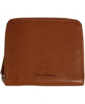 Oliver Sweeney Beny Tan Leather Coin Holder