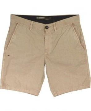 Stone Island Bermuda Shorts In Khaki