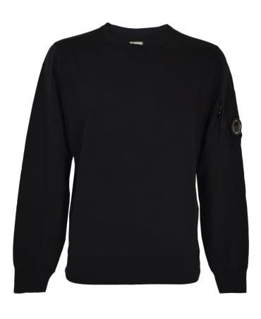 CP Company Black 03CMSS036A Lens Sweatshirt