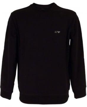 Armani Black 06M28RN Crew Neck Sweatshirt