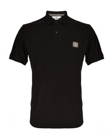 Stone Island Black 22C15 Polo Shirt