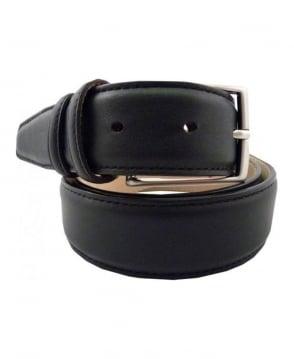Robert Charles Black 3751 Leather Belt