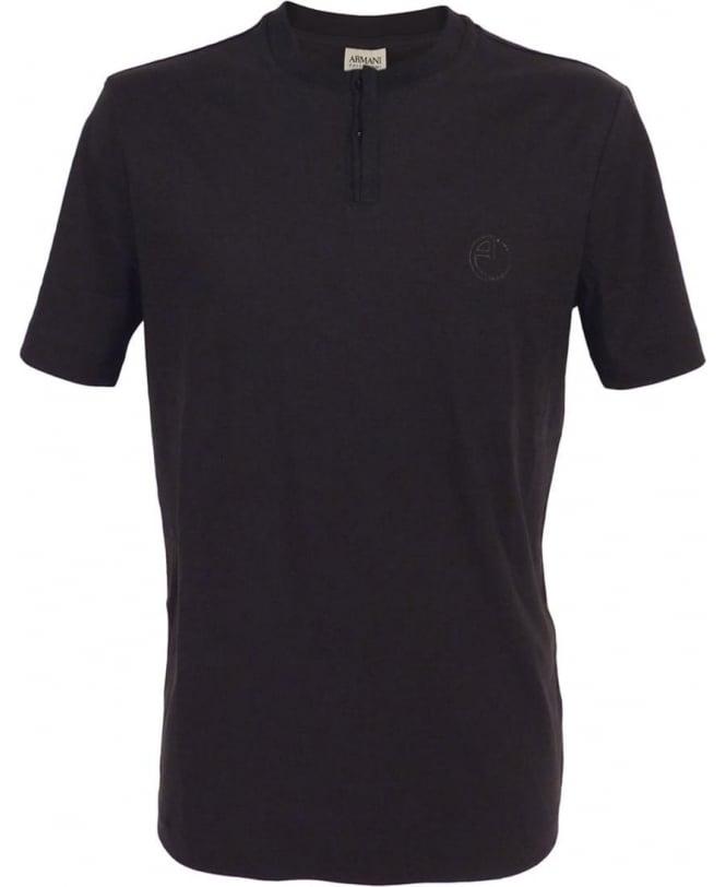 Armani Collezioni Black 3XCF55CJDFZ Crew Neck T/Shirt