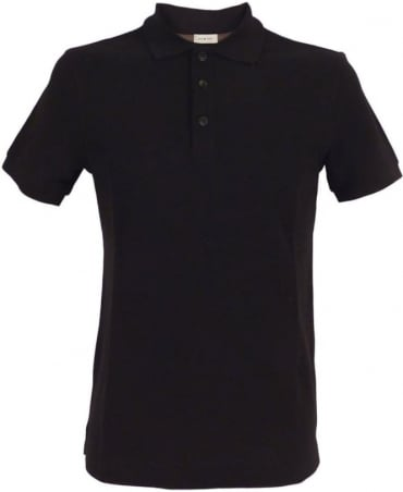 Armani Black 3XCF89 Short Sleeve Polo
