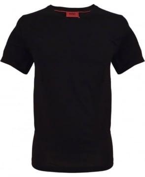 Hugo Black 50277935 Danny V-neck T-shirt