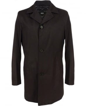 Hugo Boss Black 50297404 Dais6 Water Repellent Coat